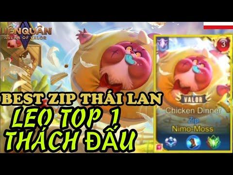 Best ZIP Thái Lan Leo Top 1 Thách Đấu | Arena of valor, Rov