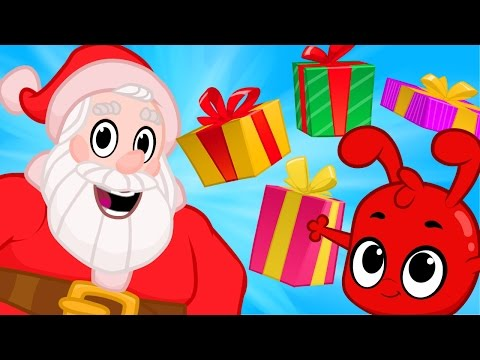 Christmas cartoon for kids with Morphle, Santa and the Chris