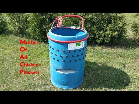 The Mother of all Chicken Pluckers and how to built it.