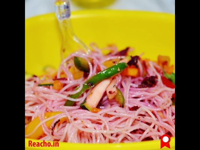 How To Make Angel Hair Salad In 60 Seconds