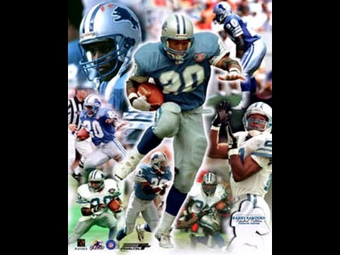 Barry Sanders - Highlights Pt. 1