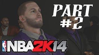 NBA 2K14 - Gameplay Walkthrough - My Career Mode - Part 2 - NBA Draft