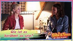 Bibi & Tina - Die Serie | Wie stehen Katharina (Bibi) und Harriet (Tina) zu Social Media?