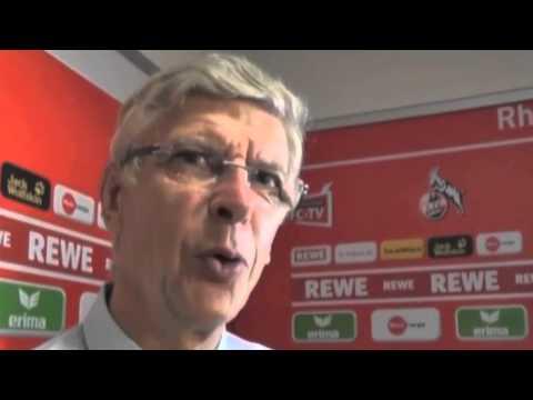 Arsene Wenger speaking German