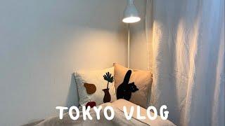도쿄 브이로그 * 이사 & 랜선 집들이 / 원룸…