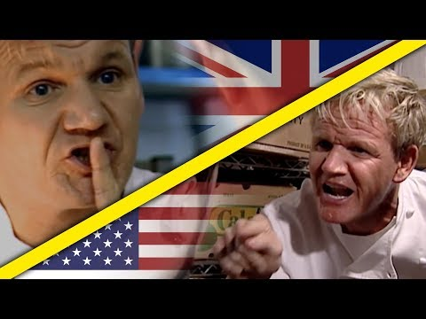 The Difference Between the UK and USA Kitchen Nightmares