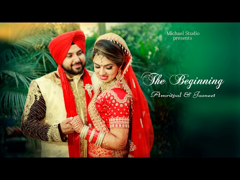 2017 | Amritpal & Jasneet | Sikh Wedding Highlight | Michael Studio