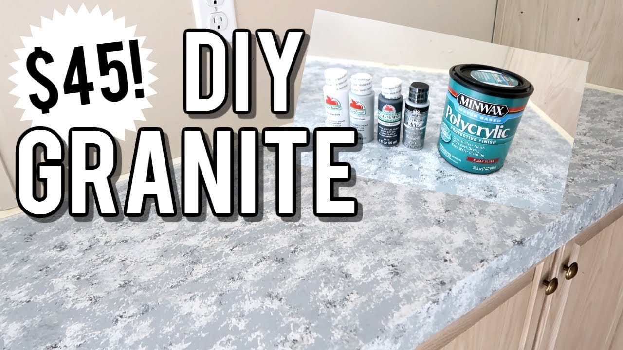 Diy Granite Countertops Budget