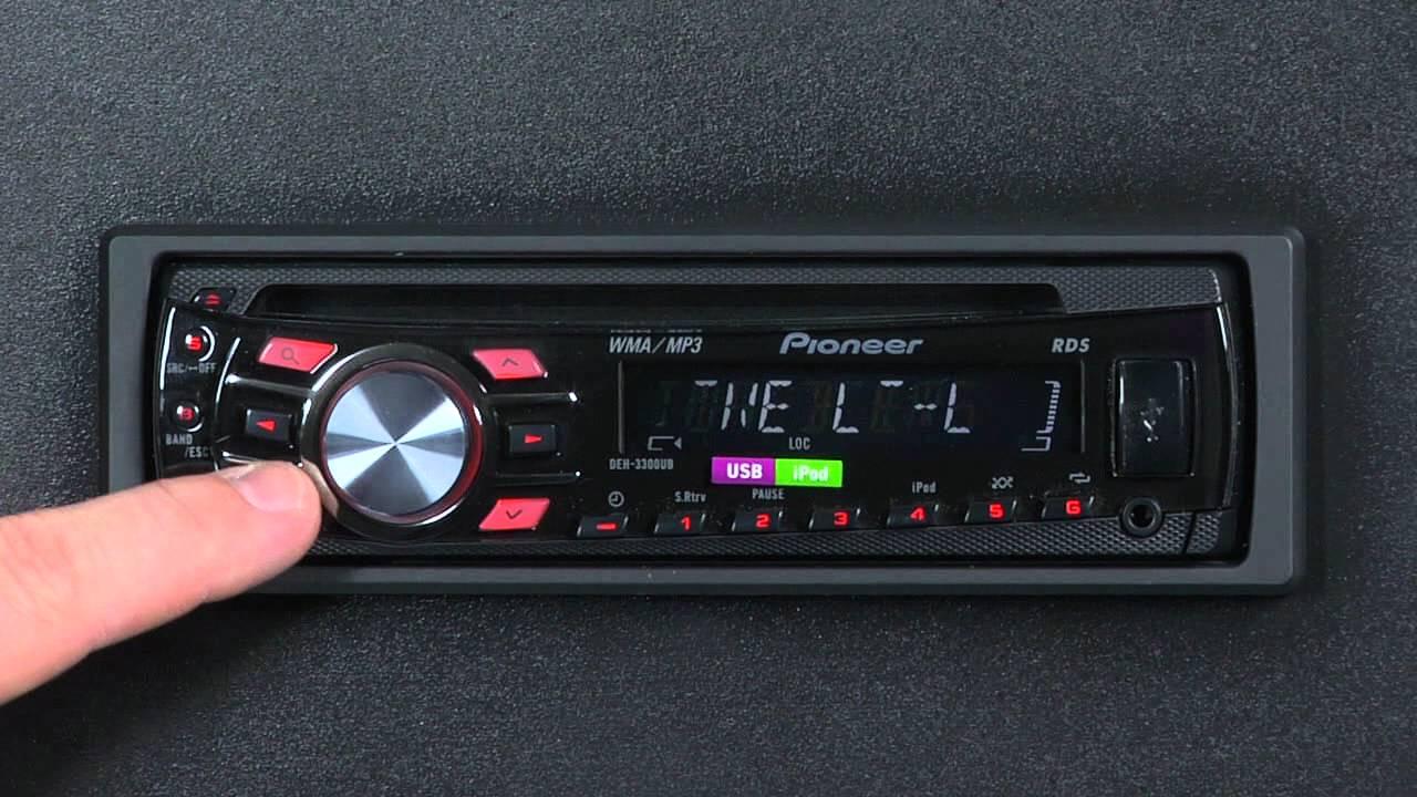faq deh 3300ub audio functions youtube rh youtube com Pioneer DEH- X6500BT pioneer deh-3300ub wiring diagram