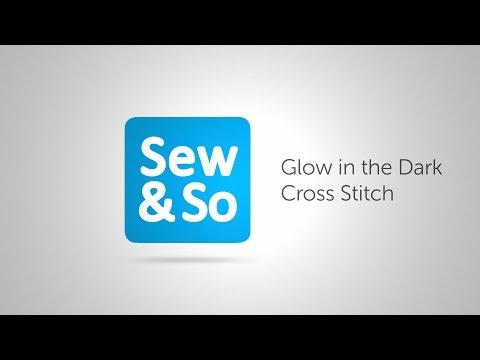 Glow in the Dark Cross Stitch with Mr X Stitch