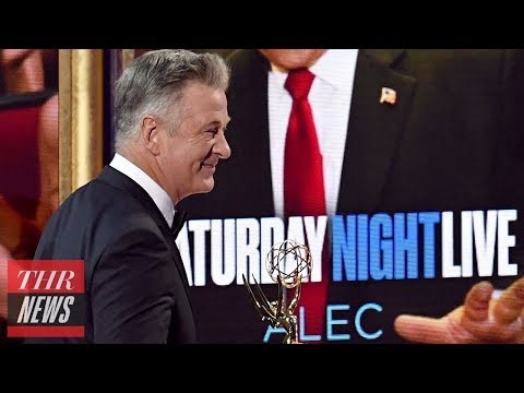 Download Youtube: Alec Baldwin Zings Trump, Kate McKinnon Thanks Hillary Clinton in Acceptance Speech | THR News