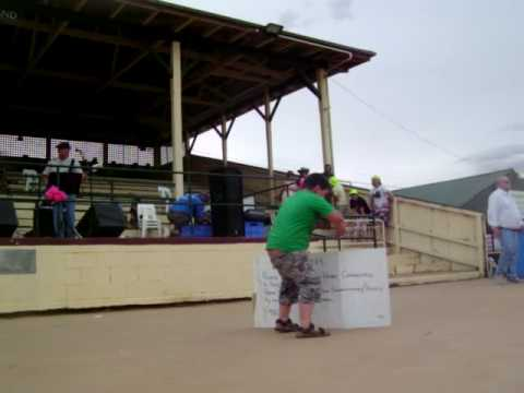 XXXX kid dancing at the silver city cup, Broken hill.
