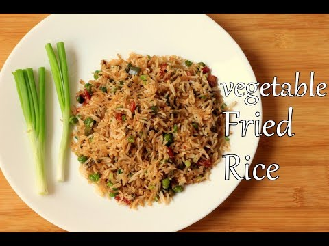 VEGETABLE FRIED RICE | EASY COOKING | DUSHYANT'S KITCHEN