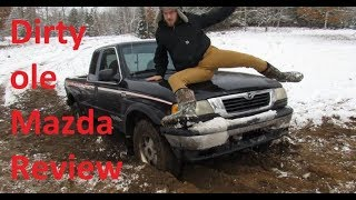 Dirty ole Mazda Review + Wheeling!!