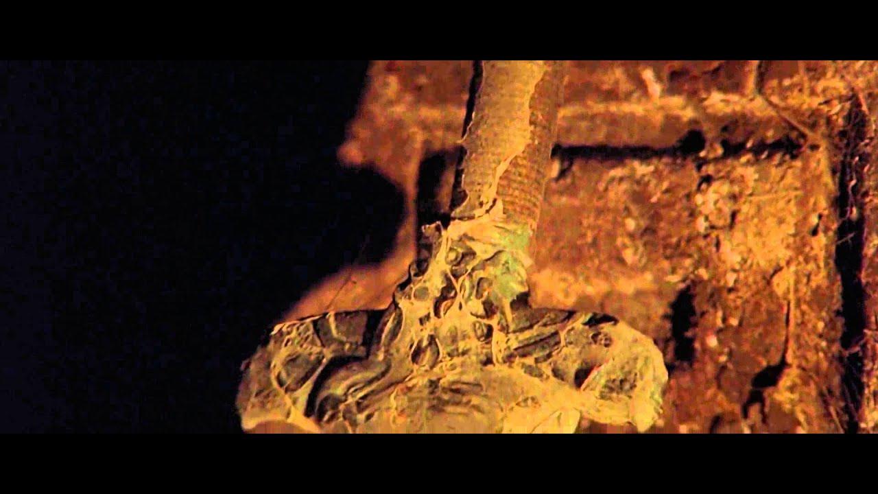 Conan The Barbarian Arnold Schwarzenegger - Cave Scene - Atlantean Sword Discovery - HD