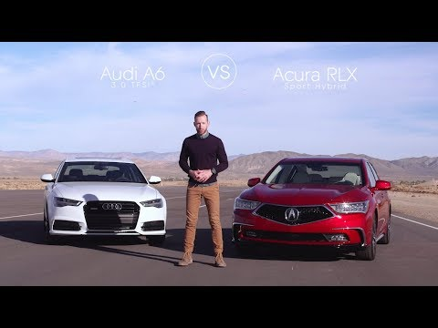 Audi A6 Vs Acura Rlx Video Review Comparison