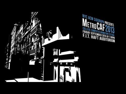 NYC ACM SIGGRAPH MetroCAF 2013 Trailer