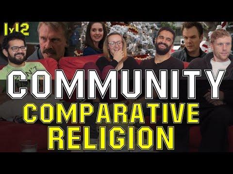 Community - 1x12 Comparative Religion - Group Reaction