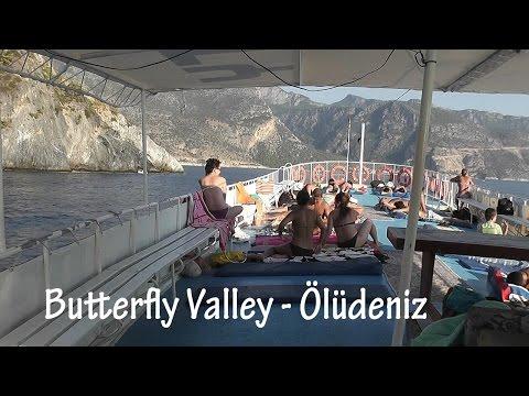 TURKEY: Ölüdeniz boat trip & Butterfly Valley [HD]