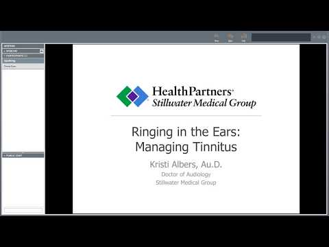 Ringing in the ears: Managing tinnitus
