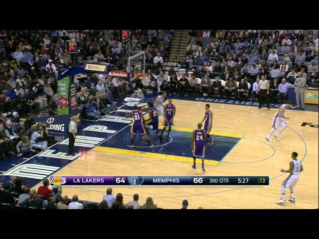 Top 10 NBA Plays: November 11th