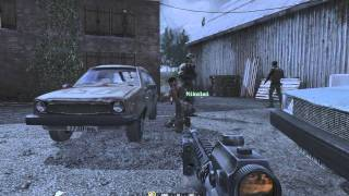 """Call of Duty 4: Modern Warfare 1"", full walkthrough on Veteran, Act 1: Mission 4 - Hunted"