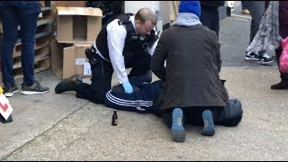 ARMED MANS MUM WITNESSES HIS ARREST - HEART BREAKING