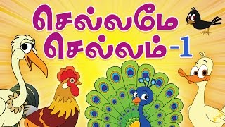 Chellame Chellam Tamil Rhymes Vol 1   Non-Stop Compilations   Tamil Rhymes for Children