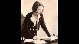 "Edna St. Vincent Millay reads ""I Shall Forget You Presently My Dear"""