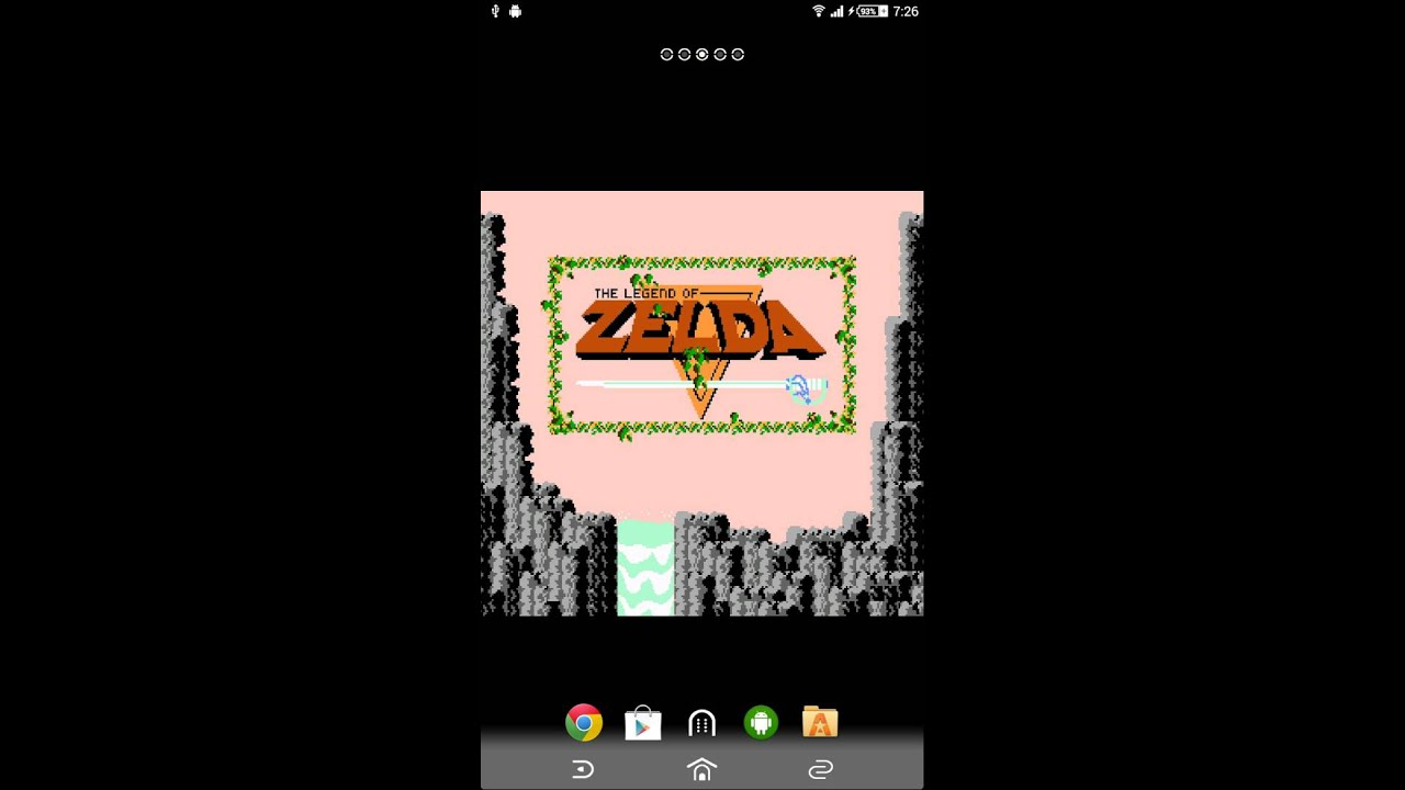 Legend Of Zelda Android Live Wallpaper