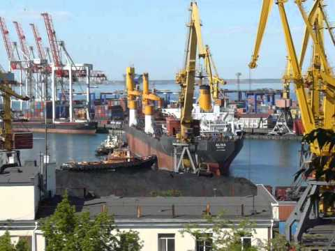 m/v ALINA at Odessa Port