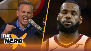 Colin Cowherd on why LeBron's Cavs gave up in Finals, Durant's dynastic Warriors | NBA | THE HERD