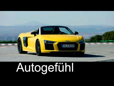 Audi R8 V10 Spyder Performance/Exterior/Interior - Autogefühl
