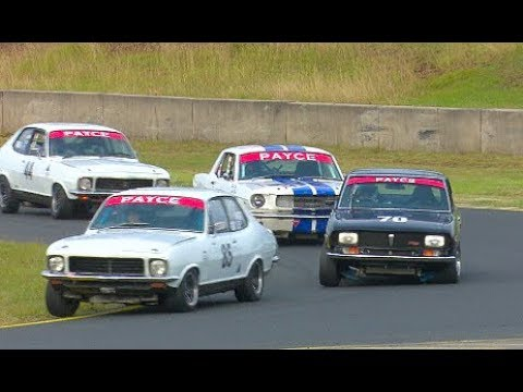 Historic Touring Car Racing Group N Sydney Classic Speed Festival 2017 Race 3