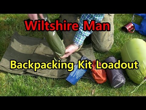 Backpack Load out for hiking long distances