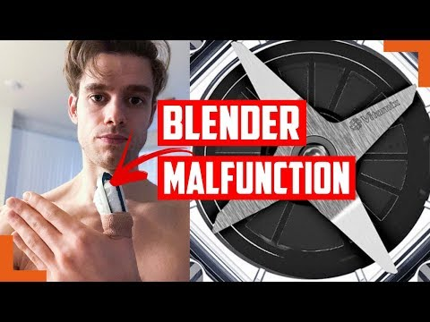 ATTACKED BY MY HIGH-POWERED BLENDER - also the future of my channel