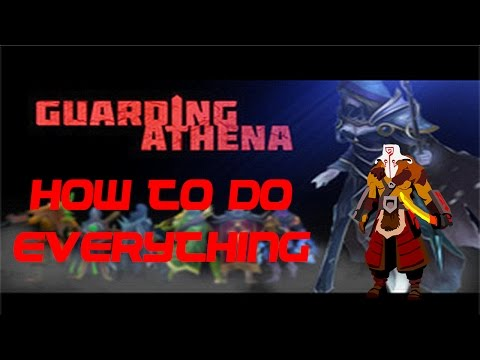 Guarding Athena 1.2.5 (Dota Arcade) HOW TO DO EVERYTHING (With all codes)