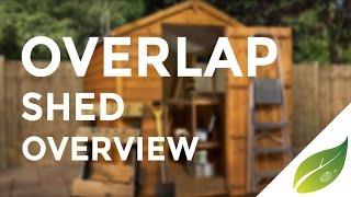 Mercia Overlap Apex Shed