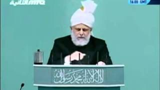 Проповедь Хазрата Мирзы Масрура Ахмада (01-10-2010)clip-1.flv