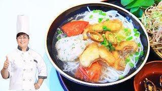 BÚN CÁ - Cách nấu BÚN CÁ hấp dẫn cho gia đình/ Nấu Ăn Ngon