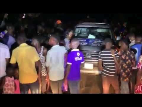 Omoyele Sowore receives a warm reception in Kiribo, his hometown