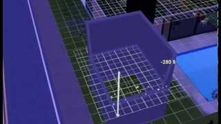 The sims 3. Урок строительства комнаты отдыха на дереве.Часть 1-я.