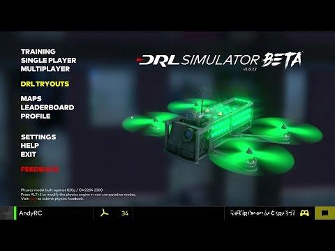 DRL Free FPV Simulator
