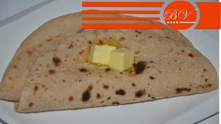 Whole Wheat Flat Bread / Roti
