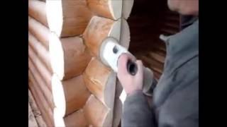 Отделка срубов домов и бань под ключ, шлифовка сруба(, 2016-05-26T09:22:02.000Z)