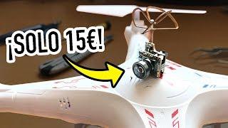 HAZ FPV CON CUALQUIER DRONE BARATO | SYMA X5C