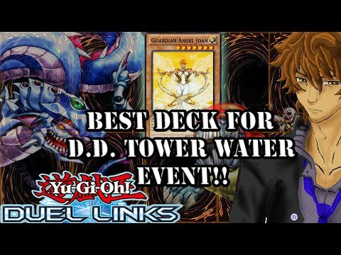 BEST DECK FOR D.D. TOWER WATER EVENT!! | YuGiOh Duel Links