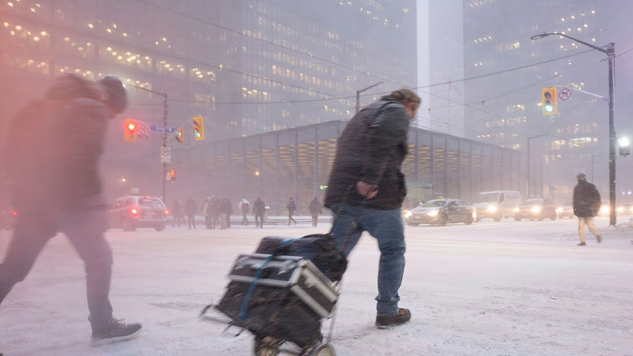 Canadians Can Expect A Long Cold And Snowy Winter Weather