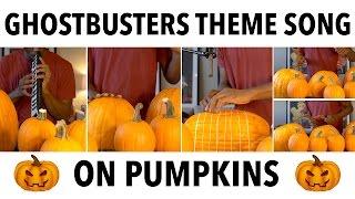 ghostbusters theme song on pumpkins dan newbie