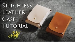 Stitchless Leather Case Tutorial by Fischer Workshops.mp3
